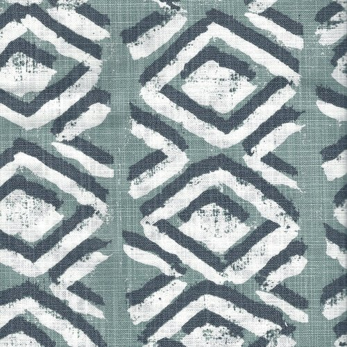 Close to Custom Linens Sham Sapo Waterbury Geometric Spa Green Slub Cotton Tailored Euro by Close to Custom Linens (Image #4)