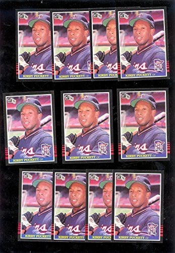 1985 Donruss Kirby Puckett Rookie Card #438 Lot of 11 ()