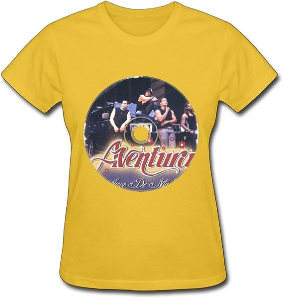 No aventura en concierto Logo T camisas para mujer: Amazon.es: Ropa y accesorios