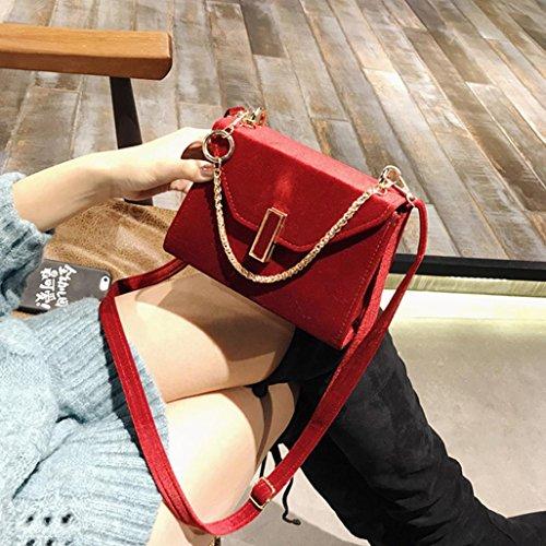 Noir Bandoulieres Rouge Pas OHQ Sac à Femme Marque Violet Rouge Unie BandoulièRe Cher A Couleur Femmes Main Sacs Vert Pour Cuir De En BFvwqBra