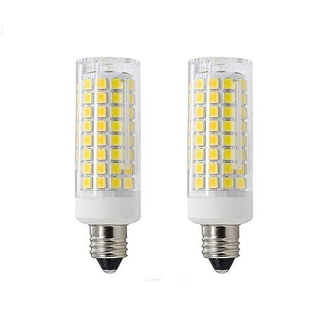 2 pack e11 led bulbs all new 102leds mini dimmable candelabra rh amazon com