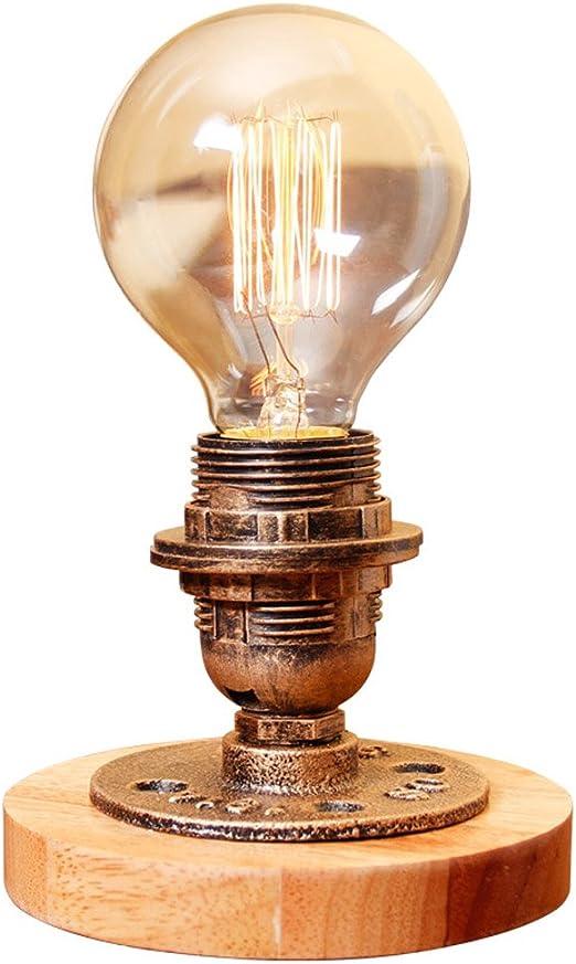 Modeen Vintage Industrial lámpara de Mesa Steampunk Mesa de luz ...