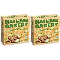 Nature's Bakery Apple Oatmeal Crumble, Whole Grain Bar, Vegan, NonGMO - 12 ct