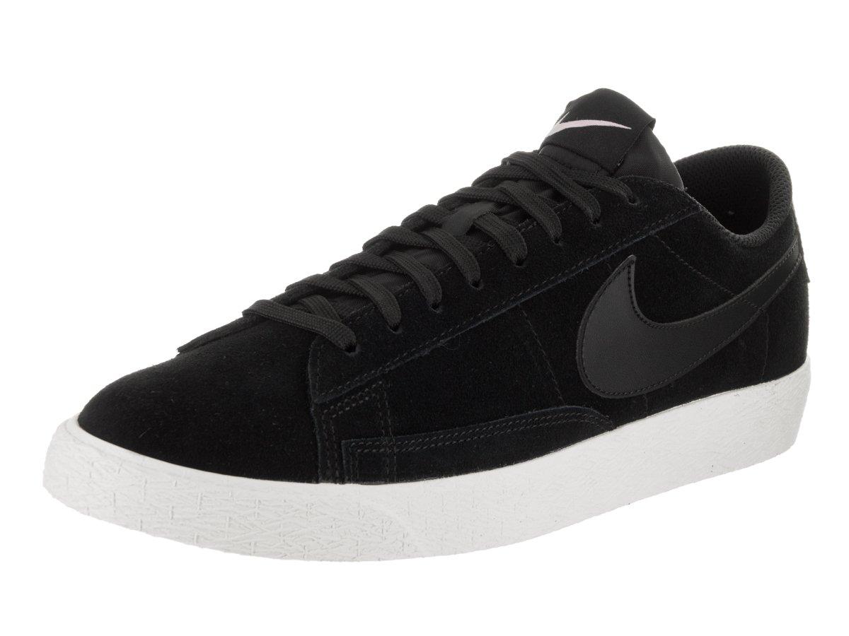 NIKE Men's Blazer Low Black/Black/Sail/Iced Lilac Skate Shoe 10.5 Men US