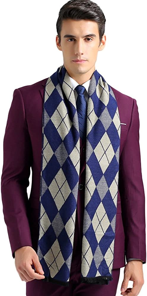 SK Studio Mens Casual Lightweight Classic Stylish Long Scarves