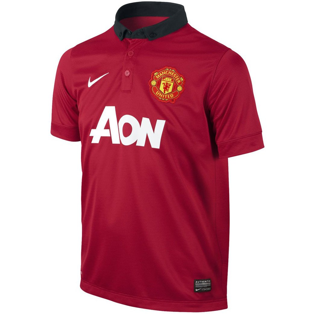 Amazon.com  ROONEY  10 Manchester United Home Soccer Jersey YOUTH. (YS)   Clothing f04cbef96