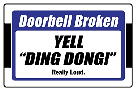 Amazon.com: Timbre Broken Yell Ding Dong realmente Loud 8