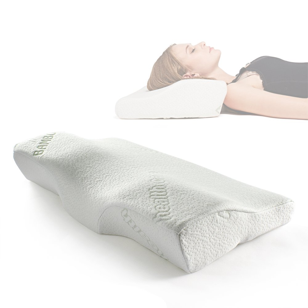 Sleep Memory Foam Contour Pillow Therapeutic Amp Ergonomic