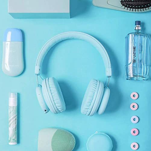 YuTouShan BH2 Wireless Bluetooth Headphones Blue