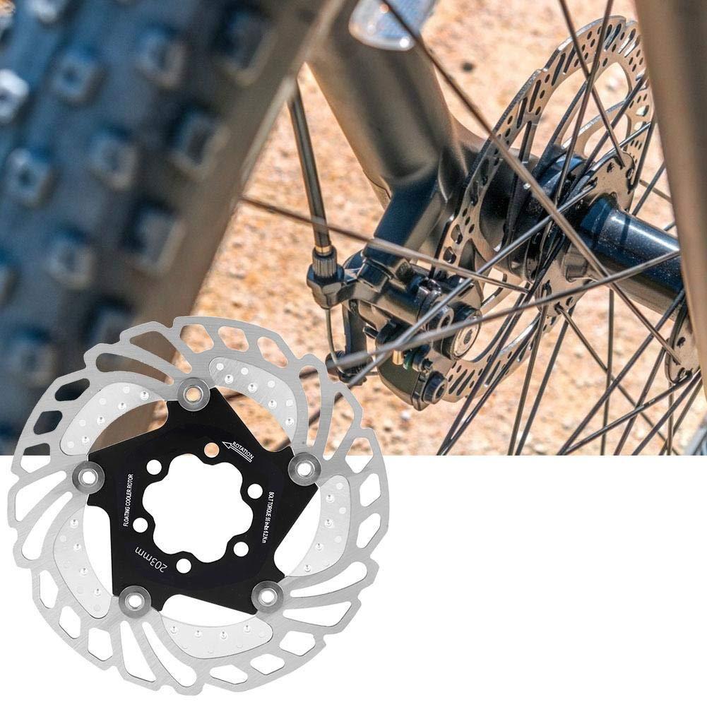Bicicleta de Refrigeraci/ón Rotor Ciclismo Disco Flotante Piezas de Bicicleta Accesorio VGEBY1 Disco de Bicicleta