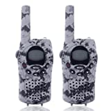 Amazon Price History for:Kids Walkie Talkies, 2 Way Radios 22 Channels and Back-lit LCD Screen (up to 6KM in open areas) Walkie Talkie for Kids Playing Games Camo