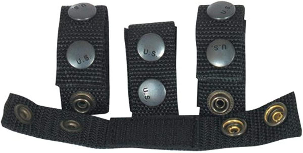 Fox Outdoor Products L1 Tactical Belt Keepers, Black
