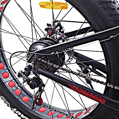 Bicicleta de montaña eléctrica de rueda ancha Cyclamatic: Amazon.es: Deportes y aire libre
