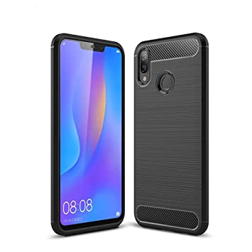 Huawei P Smart Plus Funda, MHHQ Carcasa Slim Soft TPU ...