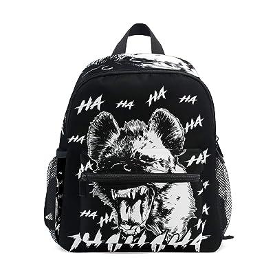 Backpack with Cool Africa Safari Hyena Print, Mini School Bags for 1-6 Years Old | Kids' Backpacks
