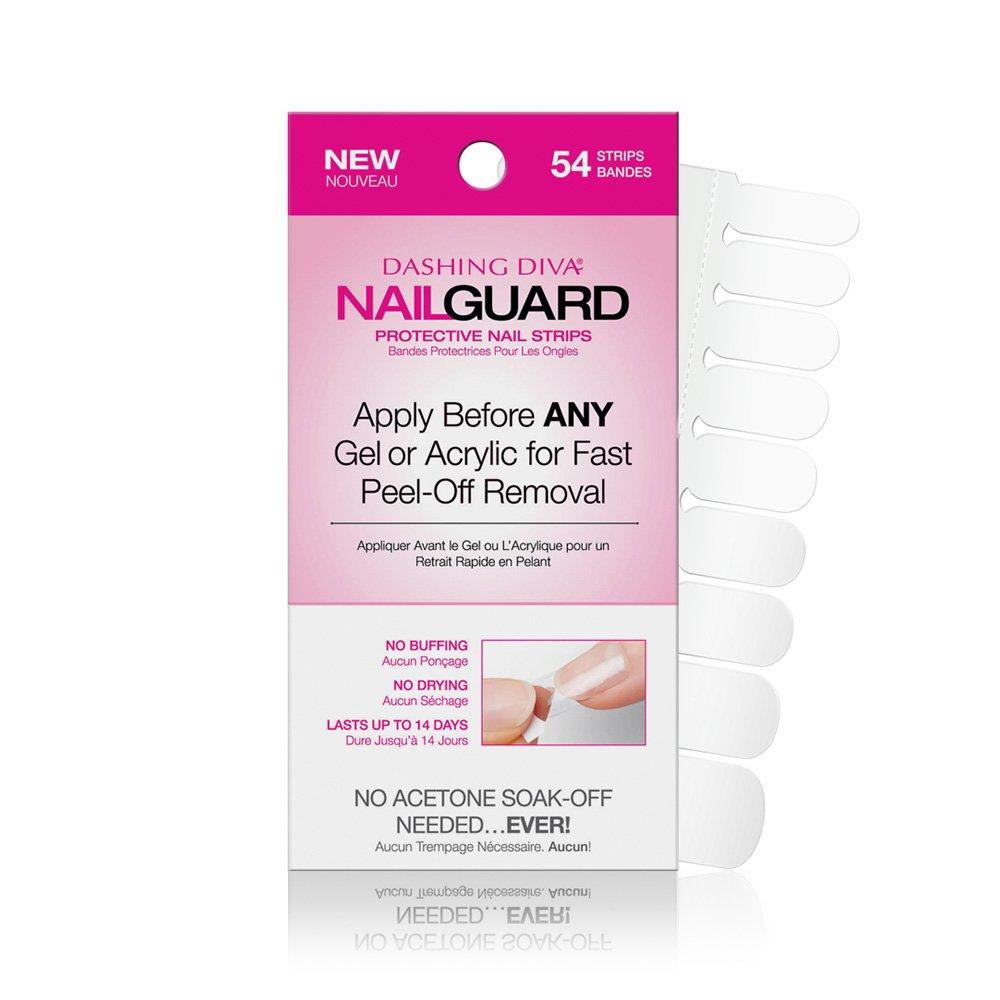 Amazon.com: Dashing Diva Nail Guard Protective Strips, 720 ct: Beauty