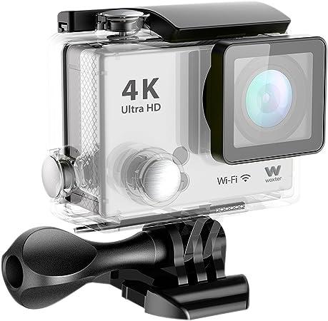 Woxter Sportcam 4K - Cámara deportiva (action cam, accesorios incluidos) color plata: Woxter: Amazon.es: Electrónica