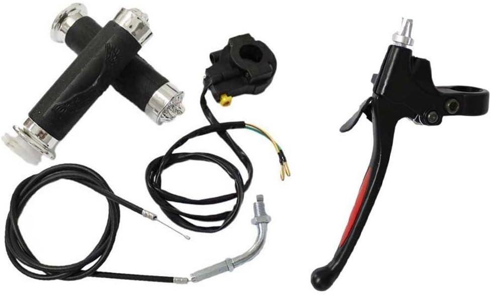 short push button clutch lever handle 80cc Motorized GAS motor parts