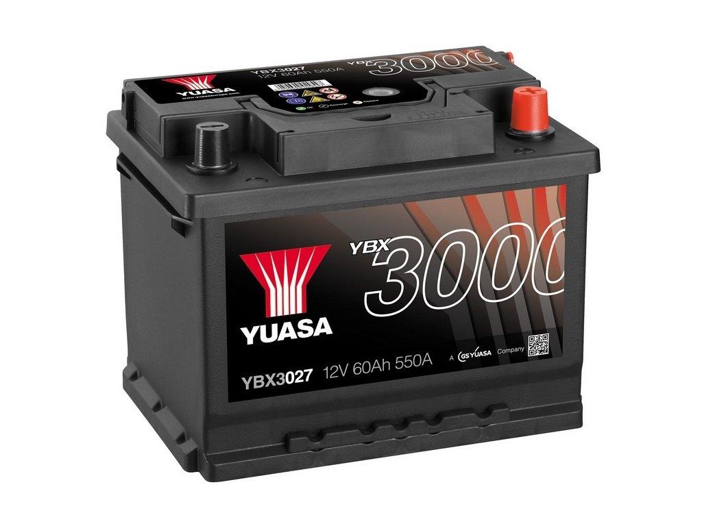 Yuasa YBX3027 Batterie de d/émarrage SMF