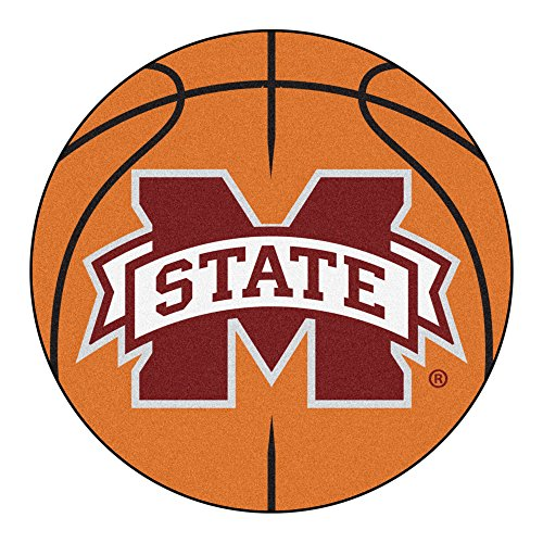 Fan Mats Mississippi State University Basketball Area Rug ()