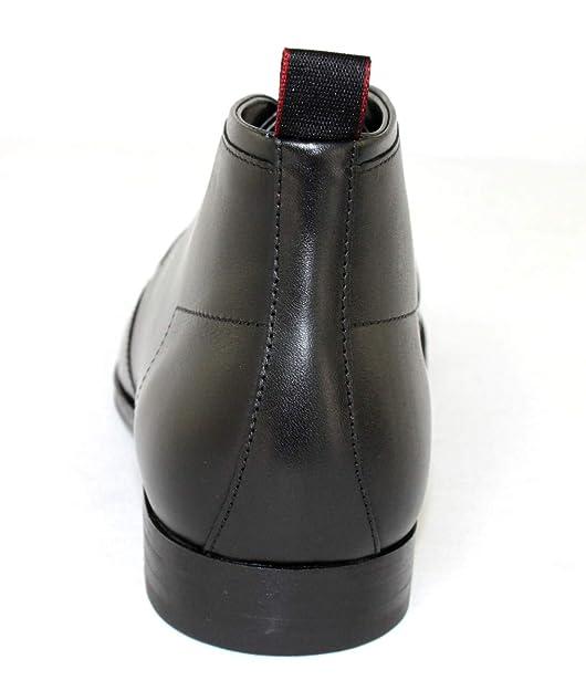 Boss Schuhe Shoe Boots Schnürer Stiefeletten Boheme/_Desb/_lt 10212055 Schwarz