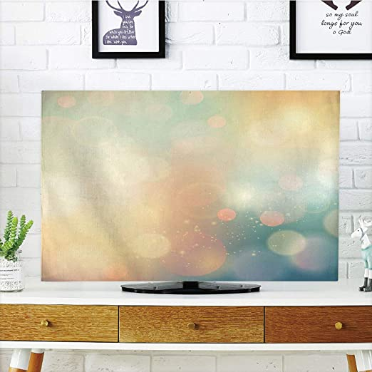 Funda para televisor LCD, abstracta, diseño tradicional de lunares ...