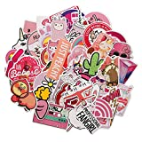SHINE-CO Stickers 100-Pcs PVC Decals Waterproof Sunlight-Proof DIY Ideals for Cars, Motorbikes, Portable luggages, Laptops