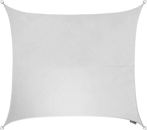 Kookaburra Breathable Party Sun Sail Shade – Polar White – 11ft 10 Square