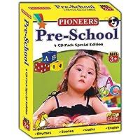 PIONEERS Pre-School 4 CD Pack Special Edition : Age 3+ : Pre-School Essentials | Rhymes & Songs | Fabulous Moral Stories Vol 1&2 | Universal Syllabus