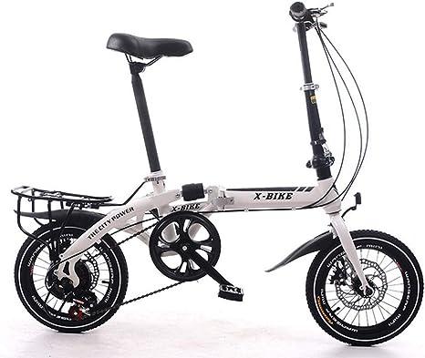 Grimk 16 Pulgadas Plegable De Aluminio Bicicleta De Paseo Mujer ...