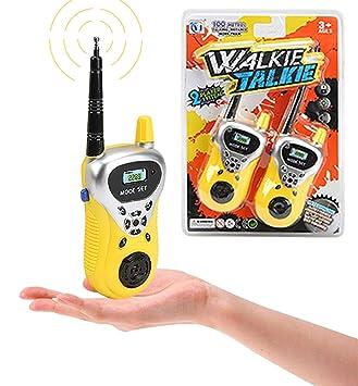 Amazon.com: lrrh juguete walkie talkie para niños, niños de ...