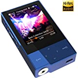 Digital Audio Player HIDIZS AP60 Ⅱ HiFi Bluetooth Wireless MP3 Player High Resolution Music Player with SD Card Slot (Blue)