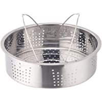 YARNOW 1 Set Stainless Steel Steamer Pot with Wire Separator Steamer Box Stackable Steamer Insert Pans Pot In Pot for…