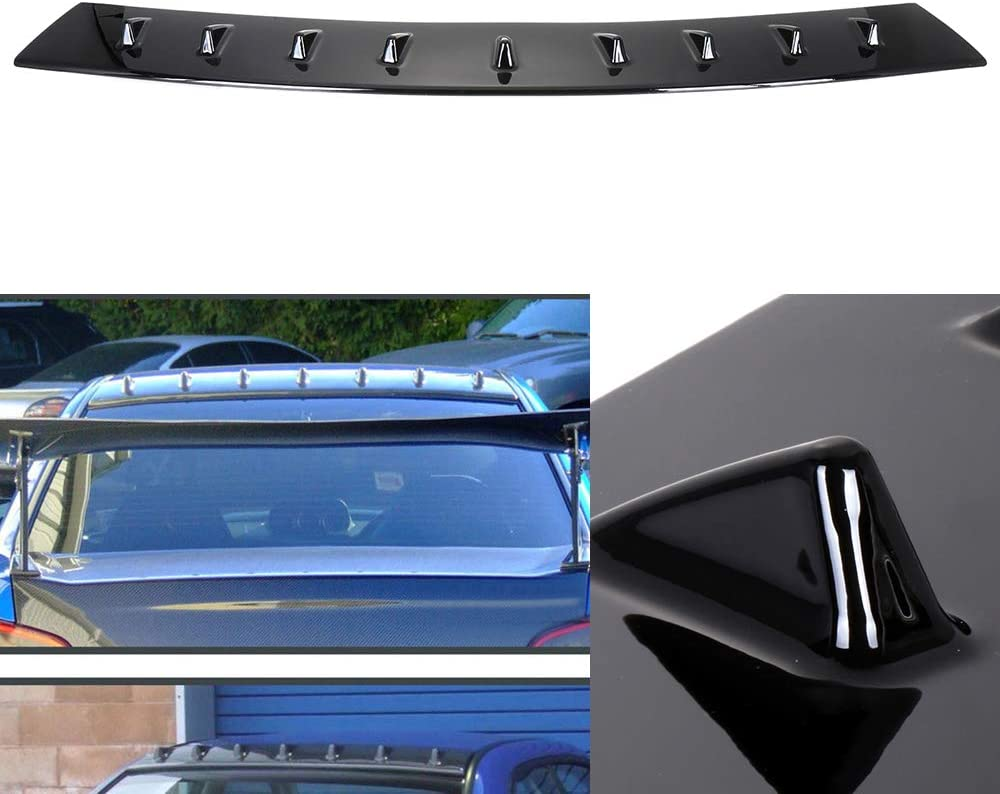 ECCPP ABS Rear Roof Spoiler Wing Glossy Replacement fit for Impreza 4-Door 2.5L Outback Sport Wagon