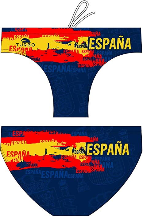 Turbo - Bañador Spain Sport de Waterpolo Competicion Natación y Triatlón 79995: Amazon.es: Ropa y accesorios
