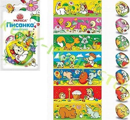 Russian Favourite Cartoons Easter Egg Shrinking Wraps