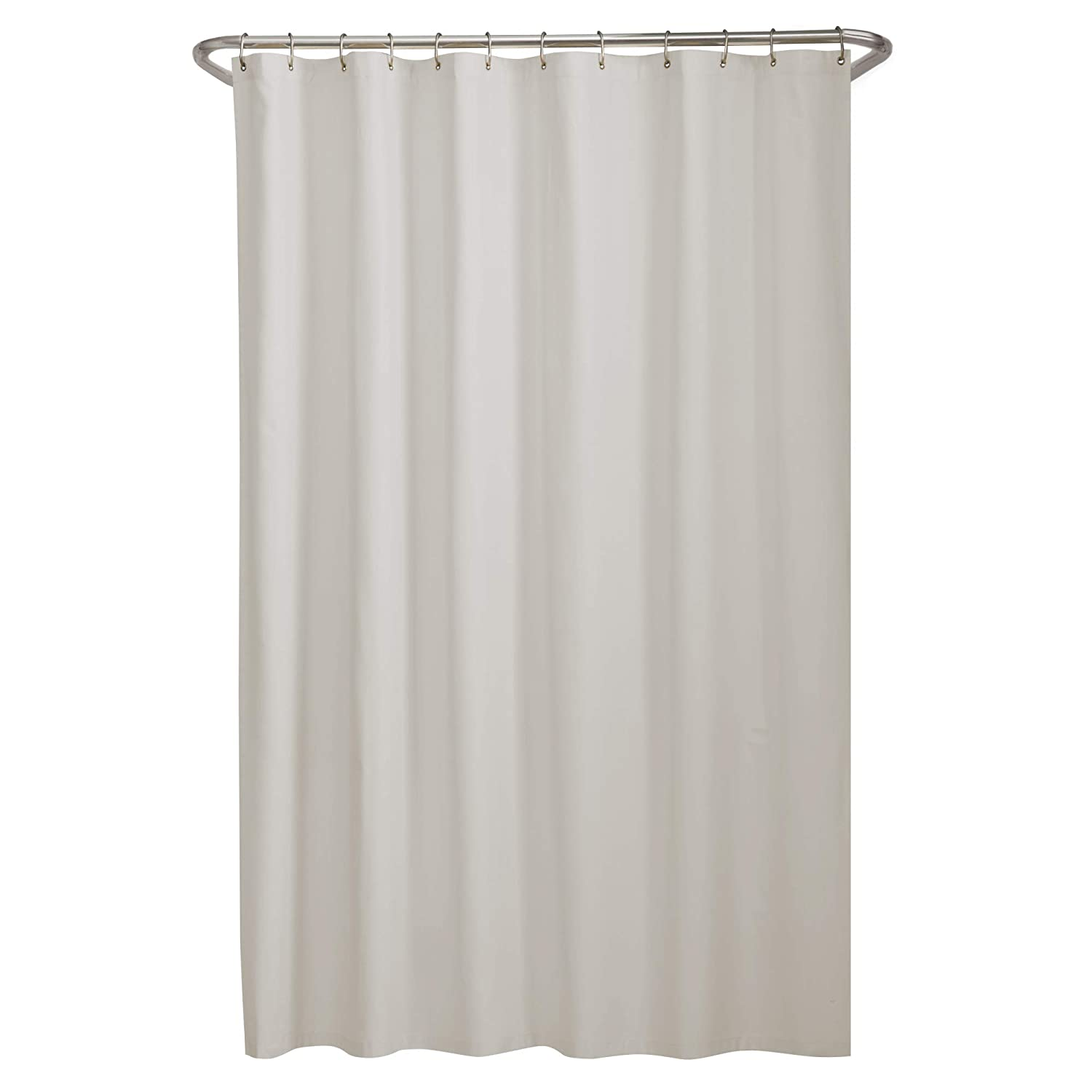 Amazon Maytex Microfiber Shower Curtain Liner Bone 70 X 72