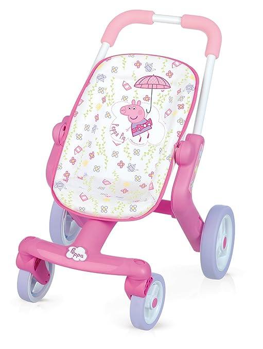Smoby Toys - 251206 Peppa Pig - Cochecito