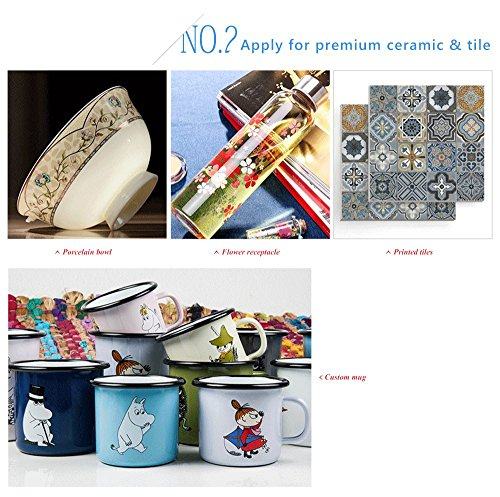 A-SUB Sublimation Paper 11x17 inch for All Inkjet Printer with Sublimation Ink,110 Sheets by A-SUB (Image #2)