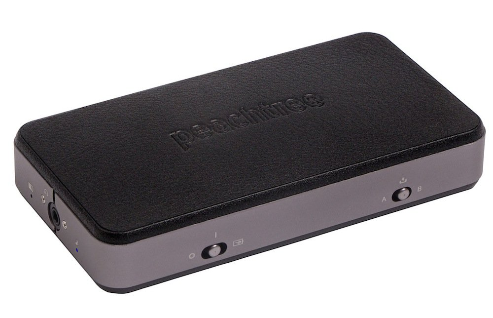 Peachtree Audio SHIFT Portable Headphone Amplifier and USB DAC