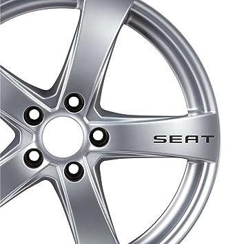 6 x Seat Alloy Wheel Stickers Adhesives: Amazon.co.uk: Car ...