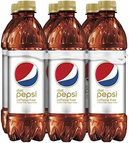 Soft Drinks: Caffeine Free Diet Pepsi
