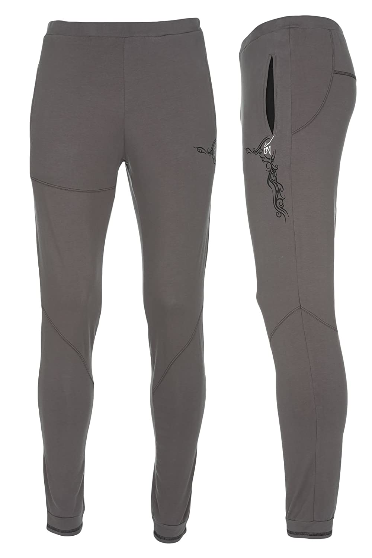 Yogamasti Yoga-Pants Men Sacred Tattoo, Grey