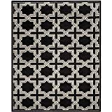 Safavieh Amherst Collection AMT418L Anthracite and Grey Indoor/Outdoor Area Rug (9′ x 12′) Review