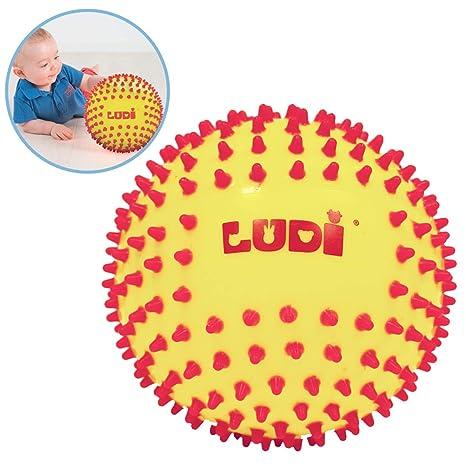 Ludi - 30018 - Pelota sensorial - bicolor: Amazon.es: Bebé