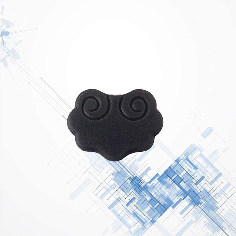 Dark Grey HEALLILY 2pcs Chinese Erhu Noise Reducer Pad Sound Filter Silencer Pads for Erhu Lovers