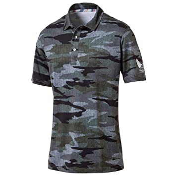 10ddda71 Amazon.com : Puma Golf 2017 Men's Volition Camo Polo : Clothing