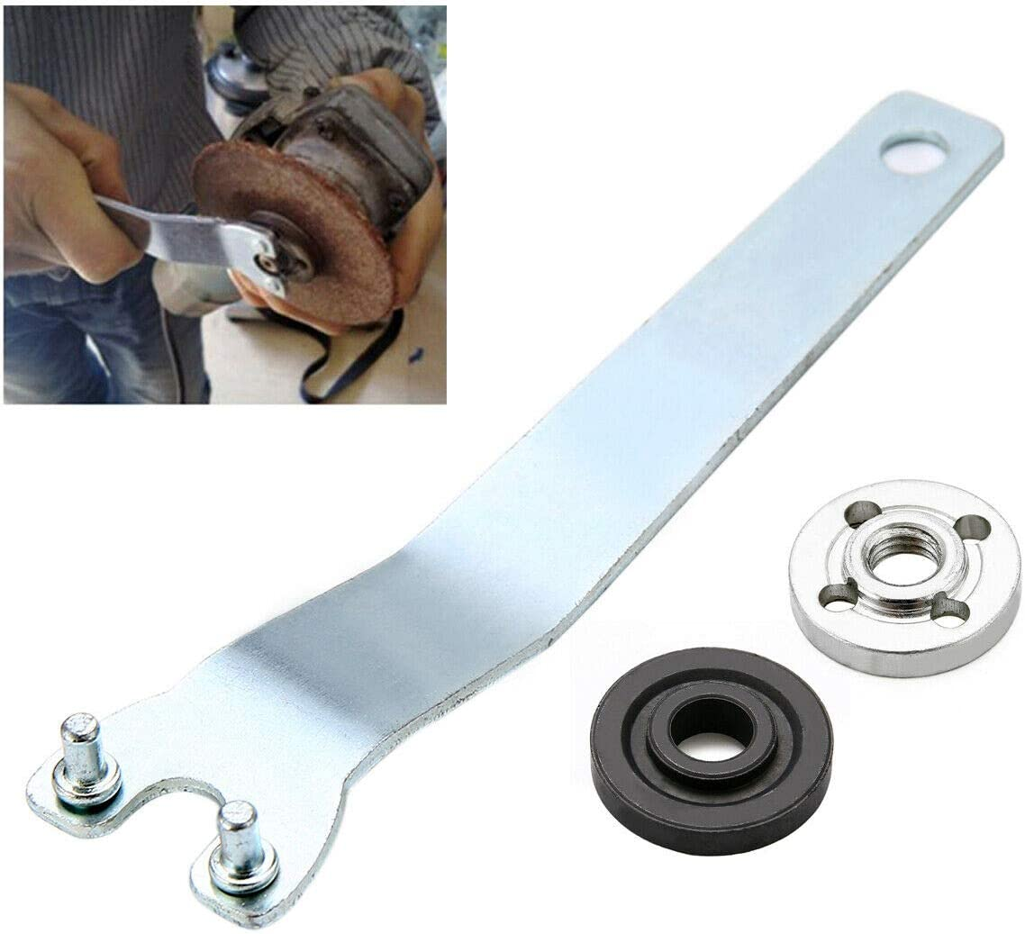 Angle Grinder Flange Spanner Wrench Lock Nut Hand Tool Lock Nut Tool