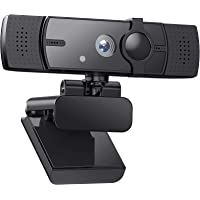Webcam 2K HD Streaming Camera with Microphone with Privacy Shutter and Tripod, for PC Video Conferencing/Calling/Gaming…