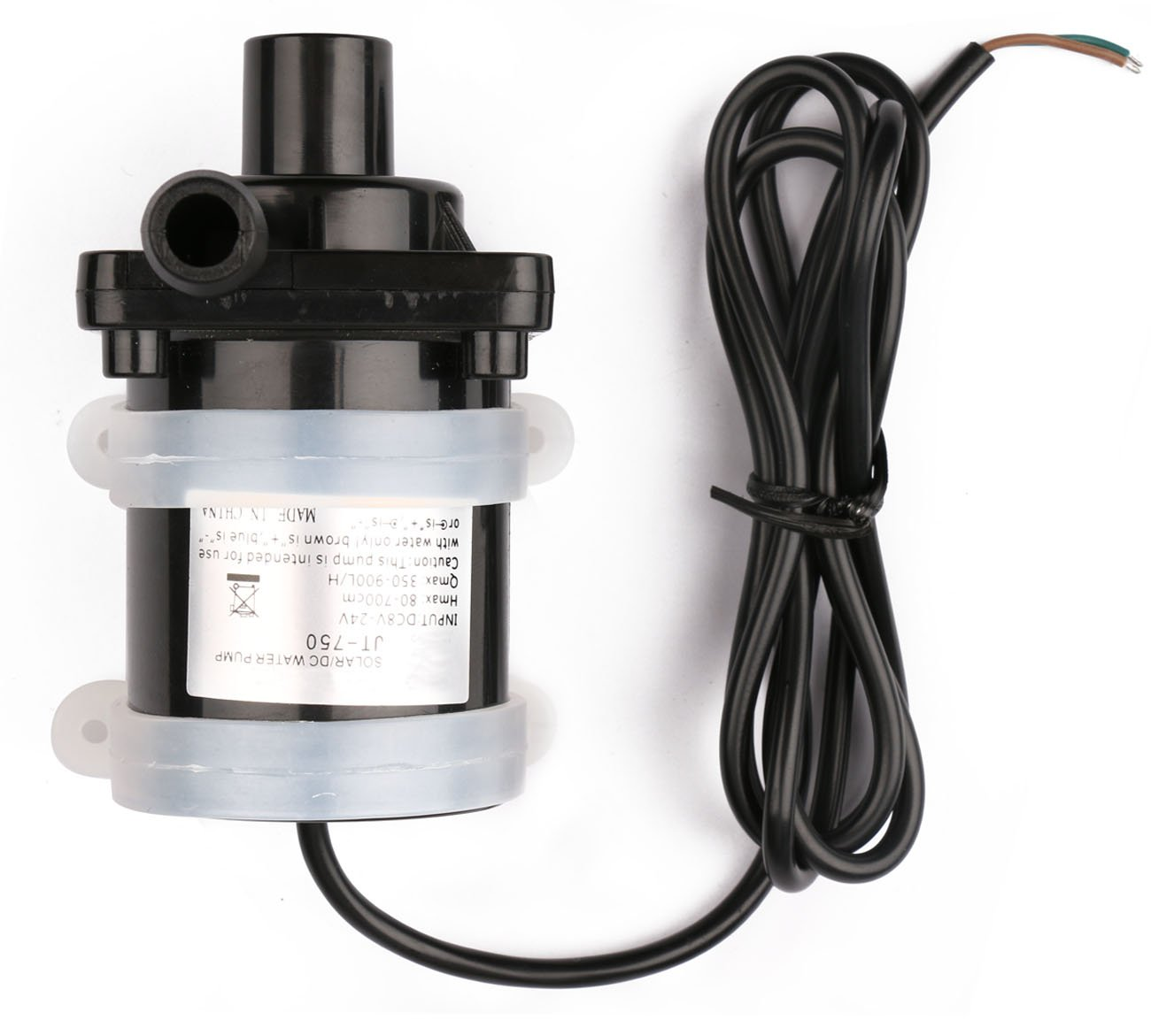 Driew Mini Submersible Water Pump, Brushless Water Pump 24V for Pond, Aquarium, Fish Tank Fountain Pumping, 900L/H